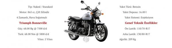 Triumph Bonneville (2014 - 2015) - Motodeks