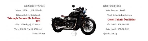 Triumph Bonneville Bobber TFC (2020 - XXXX) - Motodeks