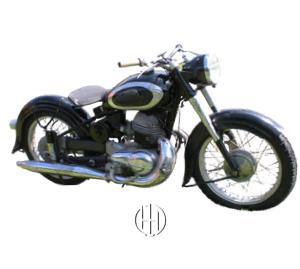 Triumph Boss (1953 - 1957) - Motodeks
