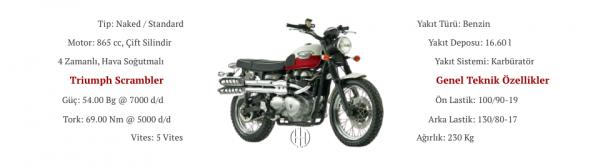 Triumph Scrambler (2006 - 2009) - Motodeks
