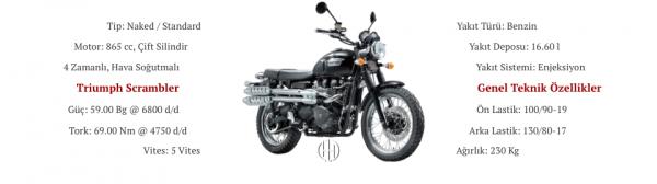 Triumph Scrambler (2010 - 2018) - Motodeks