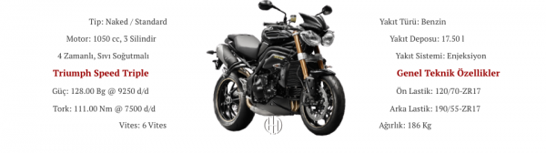 Triumph Speed Triple (2011 - 2014) - Motodeks