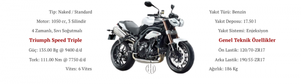Triumph Speed Triple (2015) - Motodeks