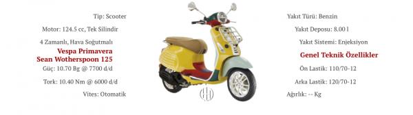Vespa Primavera Sean Wotherspoon 125 (2020 - XXXX) - Motodeks