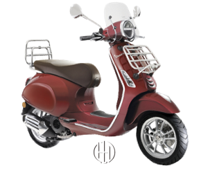 Vespa Primavera Touring 50 (2018 - XXXX) - Motodeks