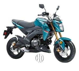 Kawasaki Z 125 Pro (2017 - XXXX) - Motodeks