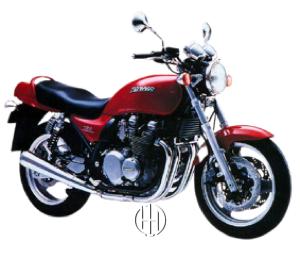 Kawasaki ZR 750 Zephyr (Zephyr 750) (1990 - 1998) - Motodeks